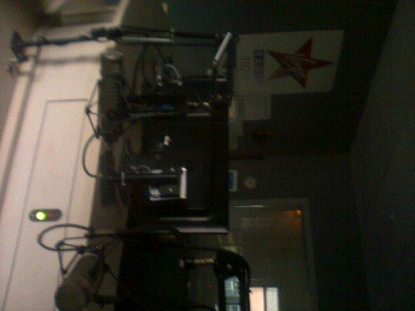 Studio de radio de mon pere a Toulouse