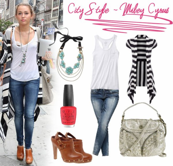 Miley Cyrus Style 2010