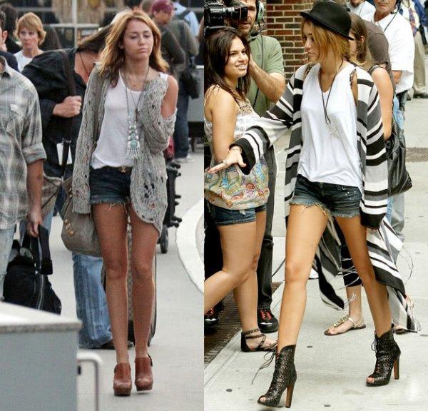 Miley cyrus le 25 Juillet 2010