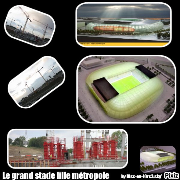Le Grand stade Lille Métropole ♥