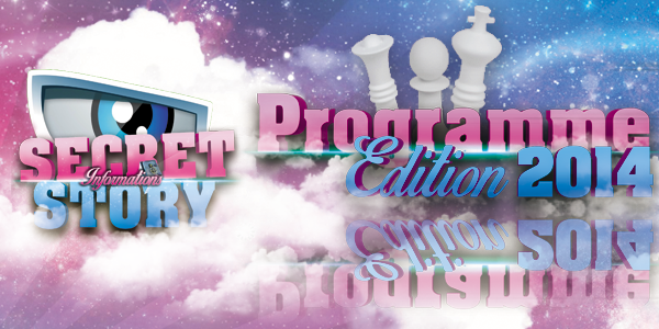 SecretStory-Informations: Programme édition 2014 !