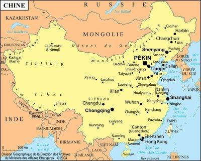 Séjour en Chine