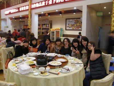 Nan Ning: Le lundi 20 février, avec des chinois^^