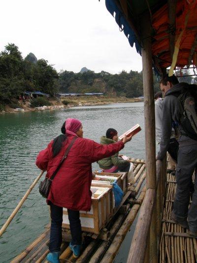 Cascades à la frontière du Vietnam (côté Chine)