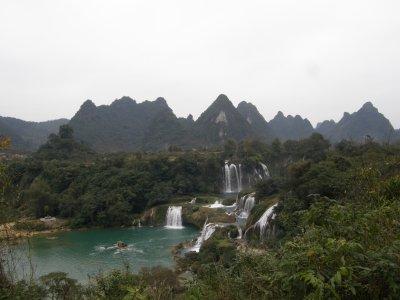 Cascades à la frontière du Vietnam (côté Vietnam)
