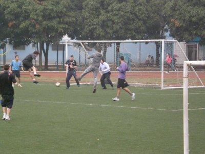 Match de foot avec les profs^^