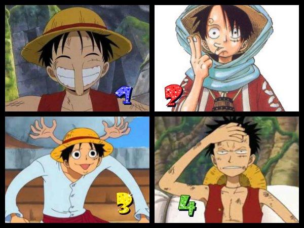 One Piece jeux n°2 : Qui imites Luffy ?