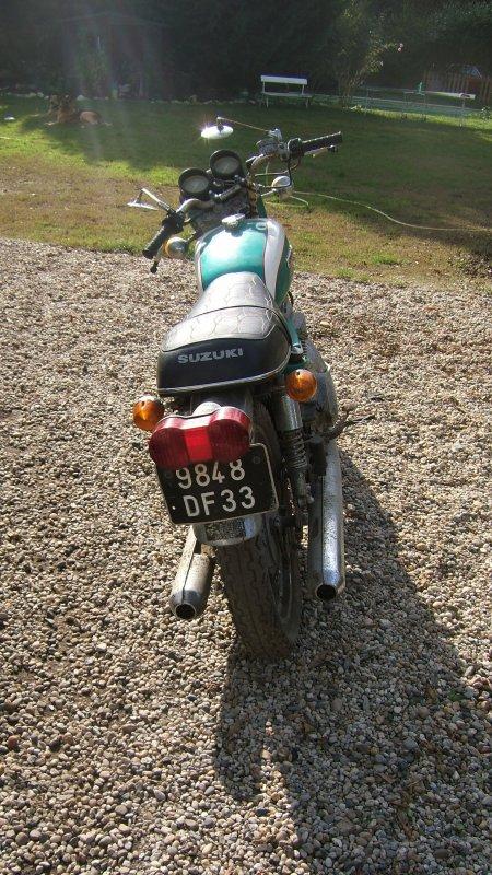 Suzuki Gt250 K, 1973