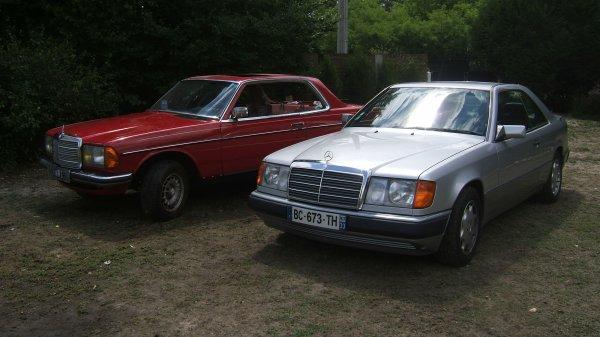 Mercedes C123 et C124.