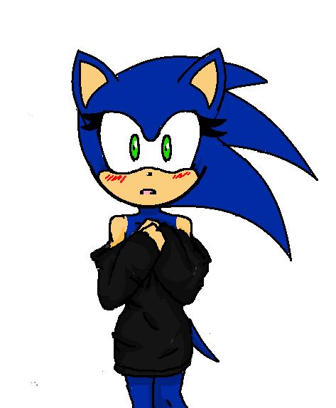 Fic 3 : Sonic Girl - Chapitre 2 - La panique de Sonic