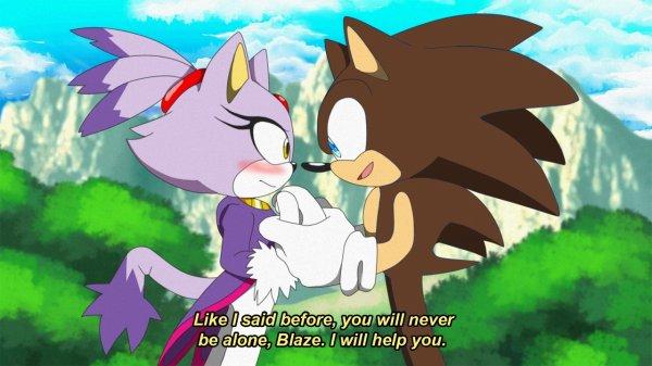 Fiche de présentation One Shot 13 - L'histoire de Matt et Blaze (demandé par Team-Sonic-BBL)