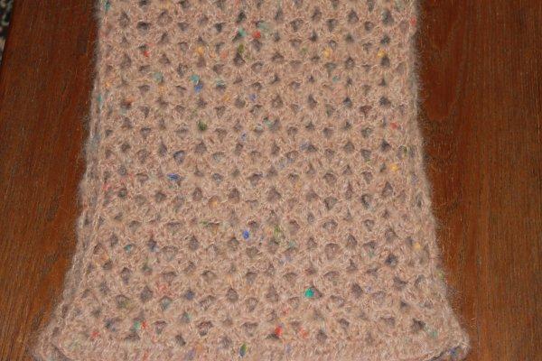 Écharpe en mohair offerte à ma maman