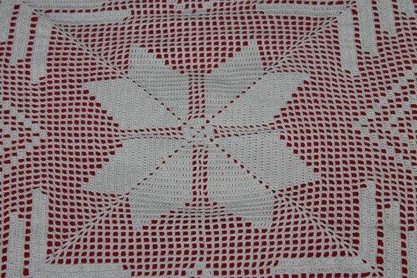 Napperon carré pour table basse carrée