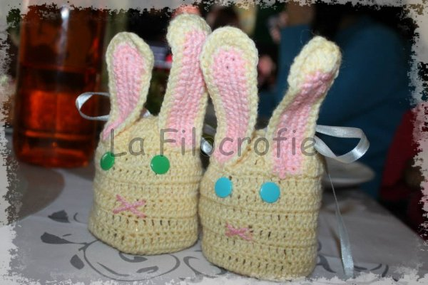 Des petits lapins remplis d'½ufs en chocolat à offrir !