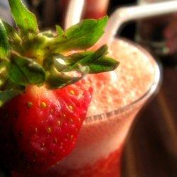 Jus de fraise!