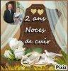 AUJOURD'HUI SA FAIT 2 ANS QUE NOUS SOMMES MARIÉS