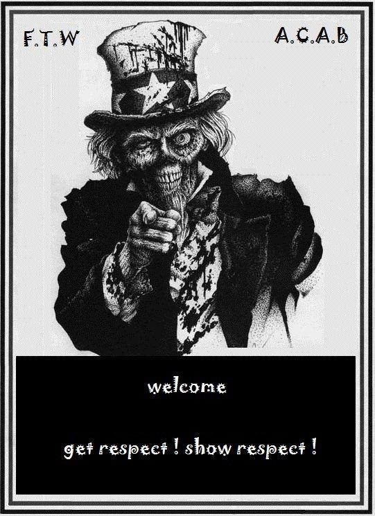 zombie biker de kustom-kultur-koncept