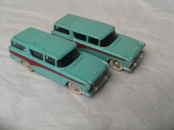 2 Nash Rambler Dinky Toys GB 1/43