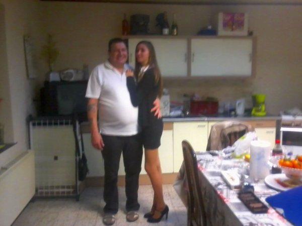 Avec le beau papa :)
