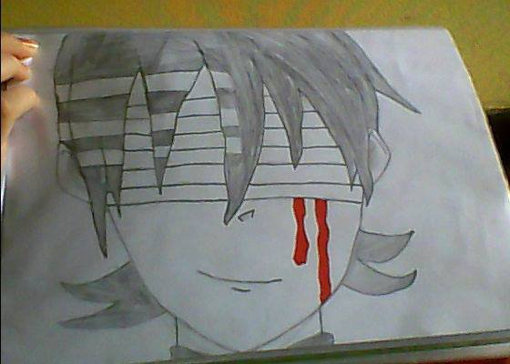 Dessin Death The Kid (soul eater)