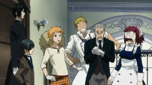 Manga Black Butler / Kuroshitsuji (saisons 1/2)