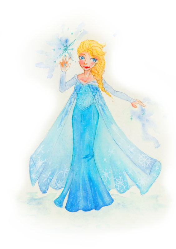 Reine des neiges SCAN.