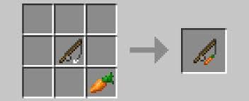 Les carottes dans Minecraft
