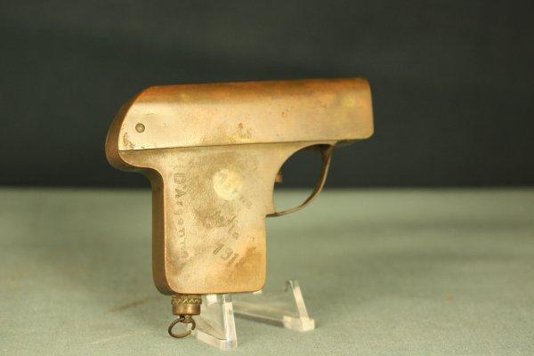 Briquet Pistol, Souvenir AEF Soldier, D' Argonne, Marne La Vesle 1918