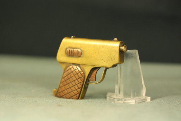 Small WW1 Trench Art Pistol Lighter
