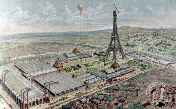 Briquet Paris Exposition Universelle 1889 - Daniel Dupuis.