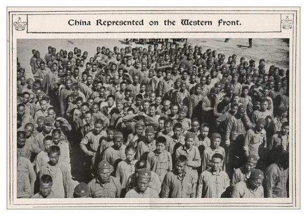 Briquet Chinese Labour Corps No 2