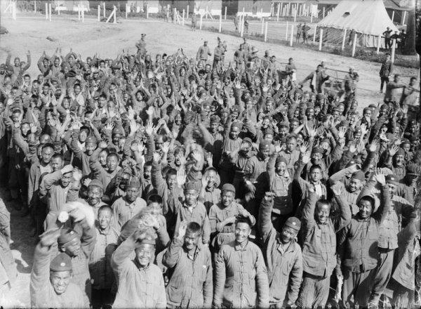 Briquet Chinese Labour Corps No 1