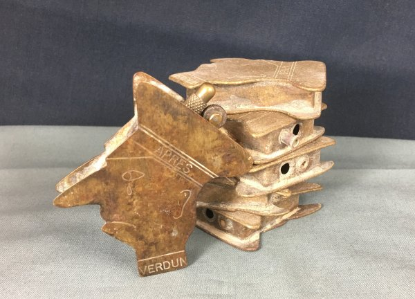 WW1 Trench Art Briquet Kron Prinz Collection