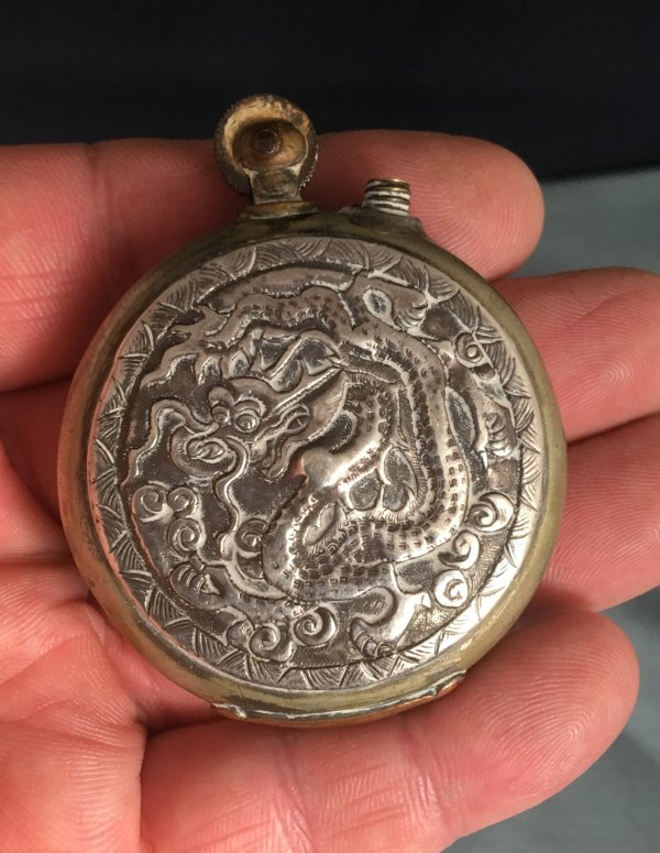 WW1 Chinese Dragon Trench Art Lighter