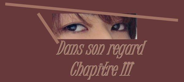 Dans son regard : Chapitre III