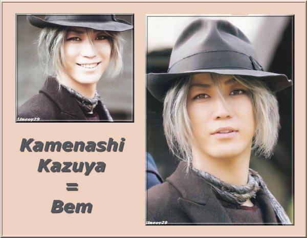 Kazuya Kamenashi est Bem pour notre plus grand bonheur^^