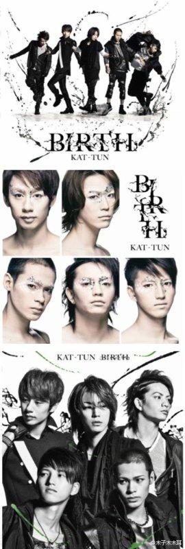 KAT-TUN Birth: les couvertures