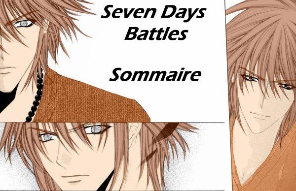 Sommaire Fanfic 5: Seven Days Battles