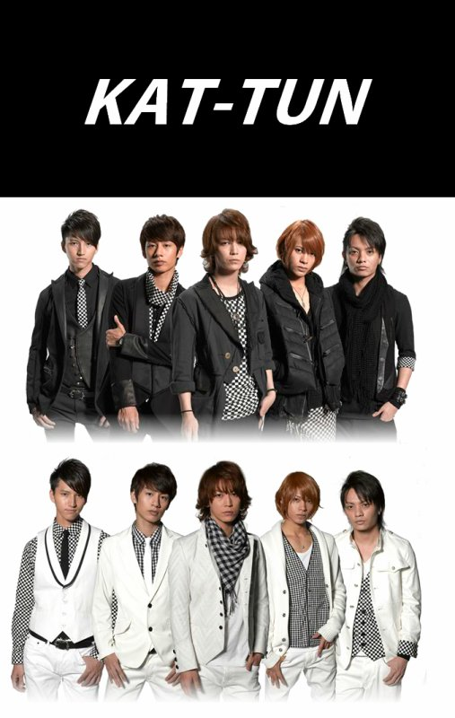 KAT-TUN White and Black