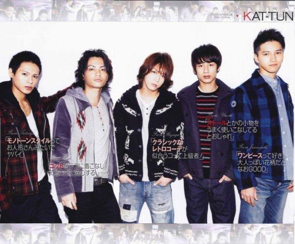 KAT-TUN RAY magazine