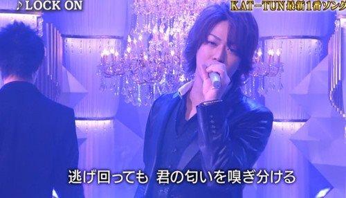 """Perf KAT-TUN """"Lock on"""" dans Ichiban"""
