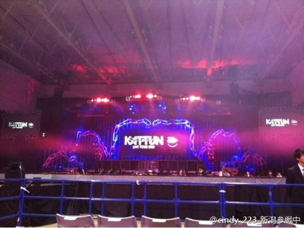 """KAT-TUN 1er concert """"Chain"""", premières nouvelles"""