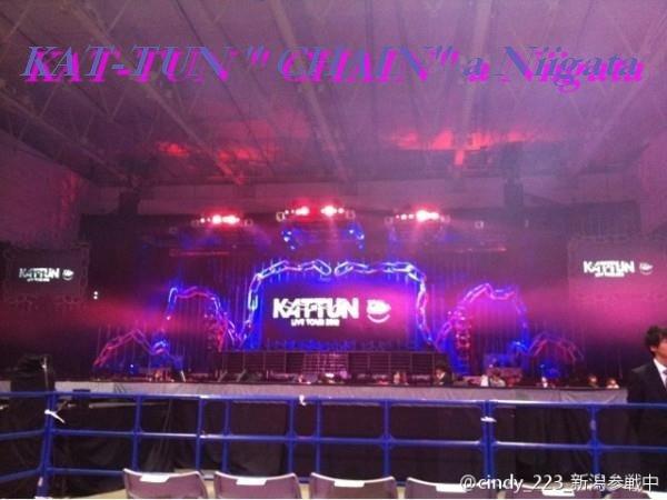 Fanreport sur le concert des KAT-TUN a Niigata, (traduction française par moi)
