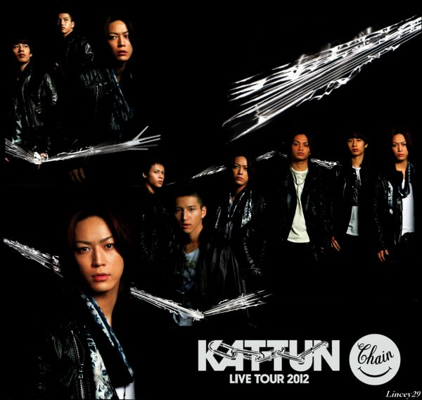 """Message vidéo KAT-TUN album """"CHAIN"""""""
