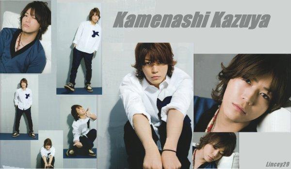 Montage Kamenashi Kazuya (shoot magazine Miss)