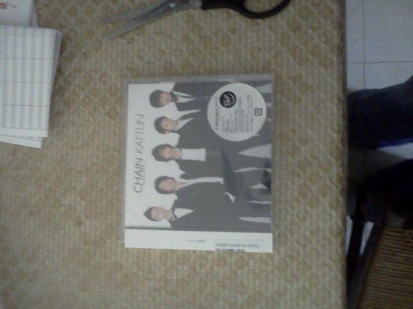 "Mon album ""CHAIN"" des KAT-TUN"