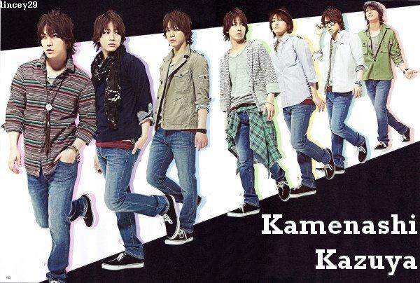 Kamenashi Kazuya dans Fine Boy Avril