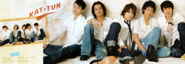 KAT-TUN Wink up Avril photo du groupe