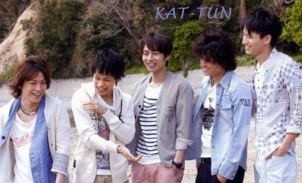 KAT-TUN dans Myojo