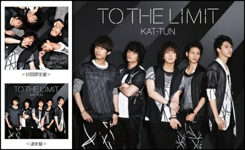 "KAT-TUN ""To the limit"" cover"
